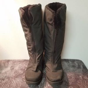 ❄ totes size 7 warm waterproof black boots